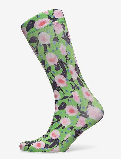 Verita, 1189 Socks - sokker - flower garden