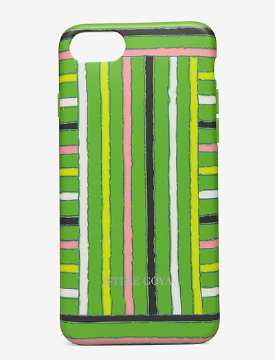 Molly, Iphone Cover 6/7/8 - mobil cover - stripes green