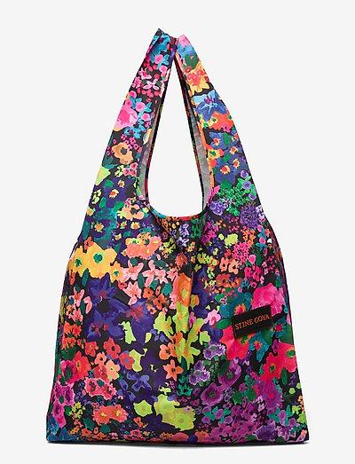 Idunn, 1190 Shopping Bag - tote bags - 60s allover