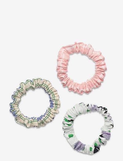 Scrunchy Pack, 1172 Printed Cotton - scrunchies - flowermarket stripes