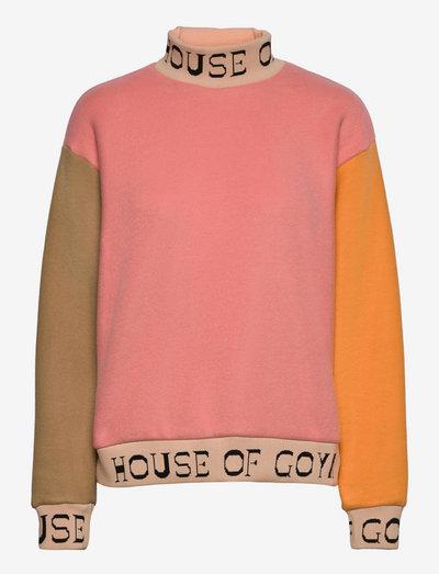 Melina, 1224 Fleece Rib - sweatshirts & hættetrøjer - multicolour
