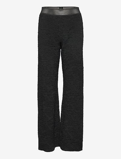 Marc, 1230 Solid Stretch - vide bukser - black
