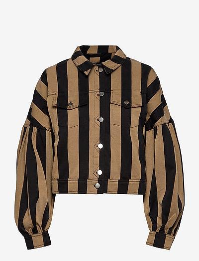 Lyric, 1252 Casual Woven - denimskjorter - stripes