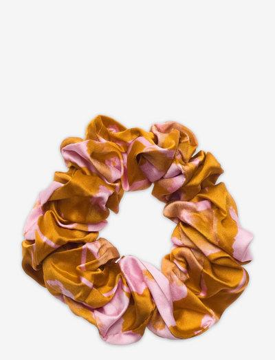 Scrunchy, 1232 Viscose Satin - scrunchies - euphoria orange