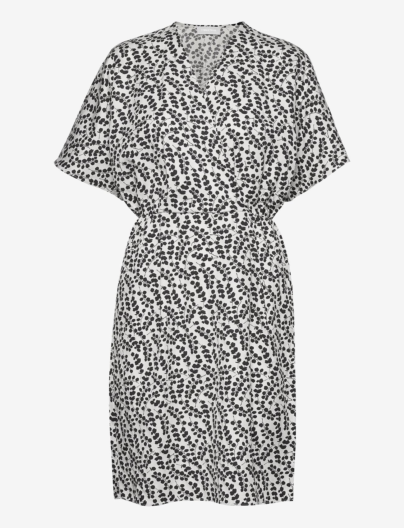 Storm & Marie - Caesia Cross Dress - sommerkjoler - eucalyptus print - 0