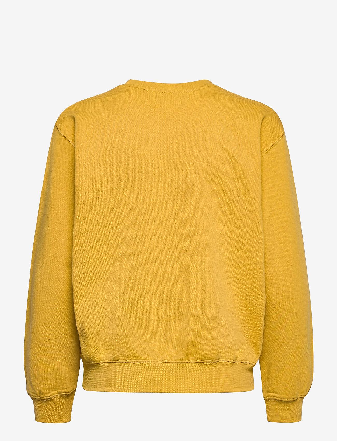 Storm & Marie - Be Better Sweat - sweatshirts & hættetrøjer - cornsilk - 1