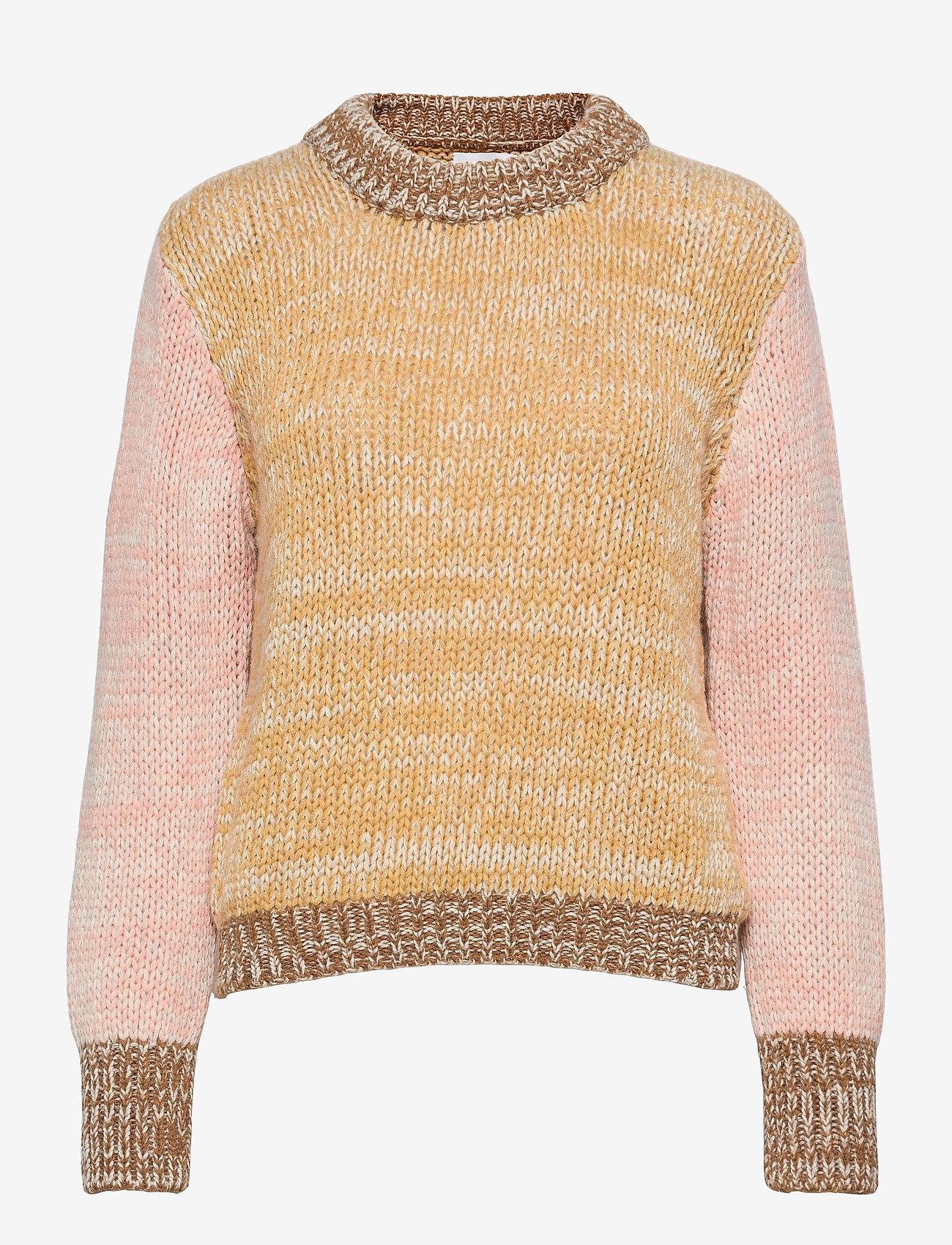 Storm & Marie - Elin Sweater - trøjer - cornsilk - 0