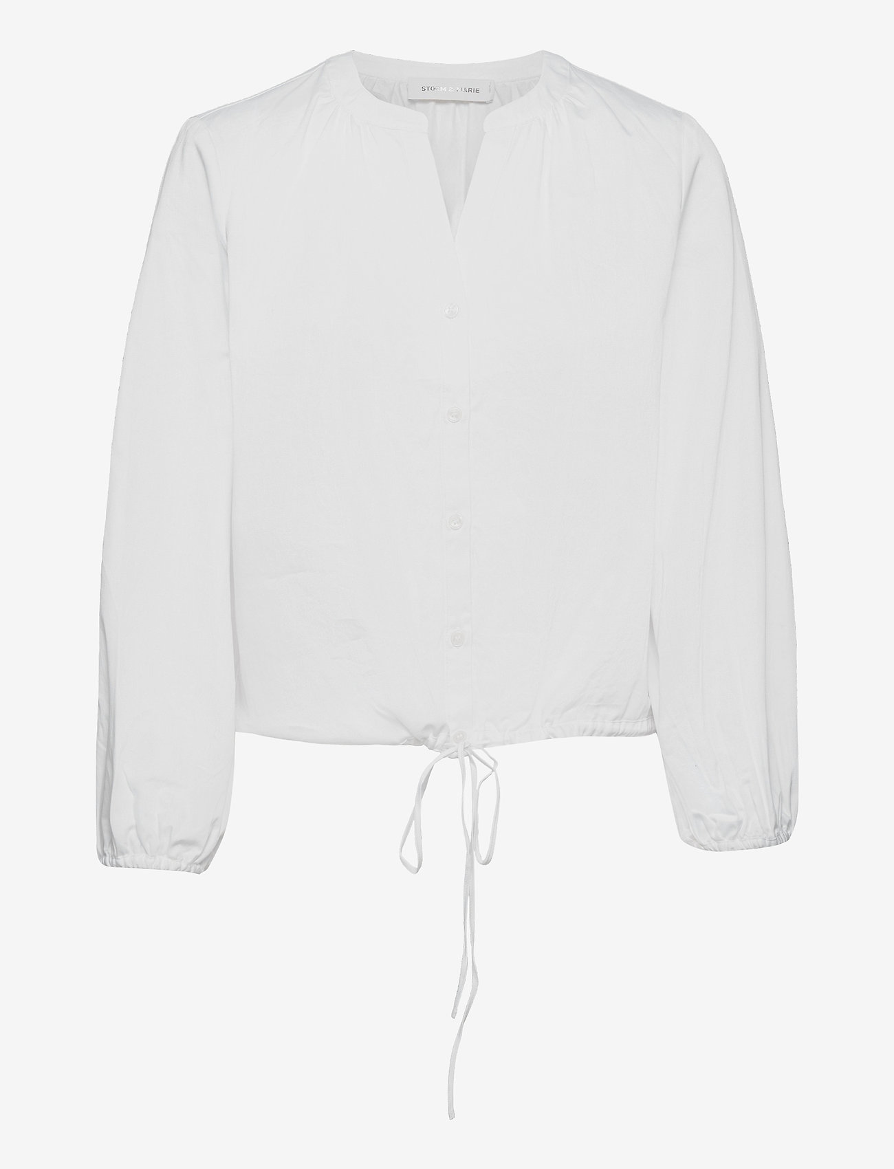 Storm & Marie - Perla Shirt - långärmade blusar - bright white - 0
