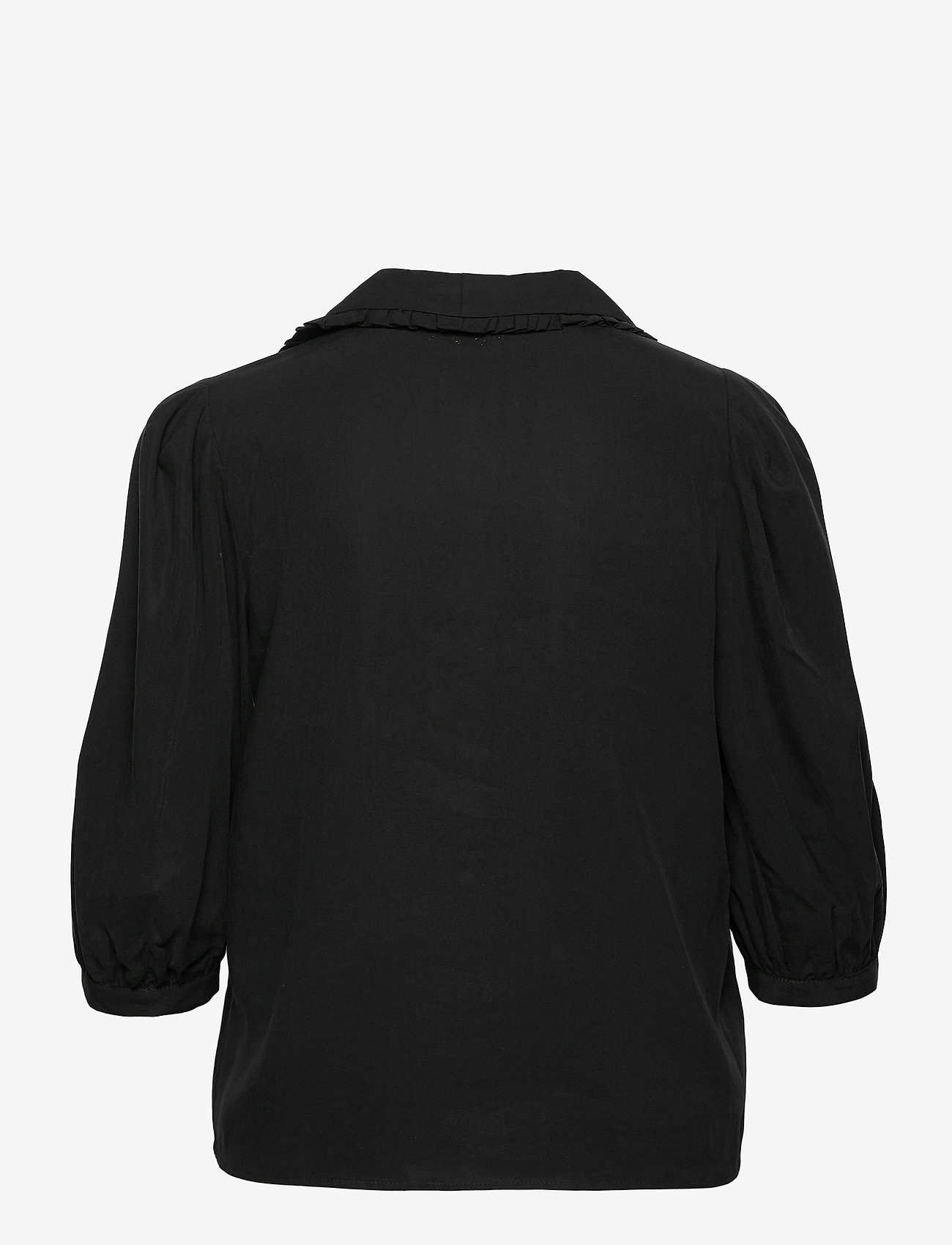 Storm & Marie - Faith Blouse - long sleeved blouses - black - 1