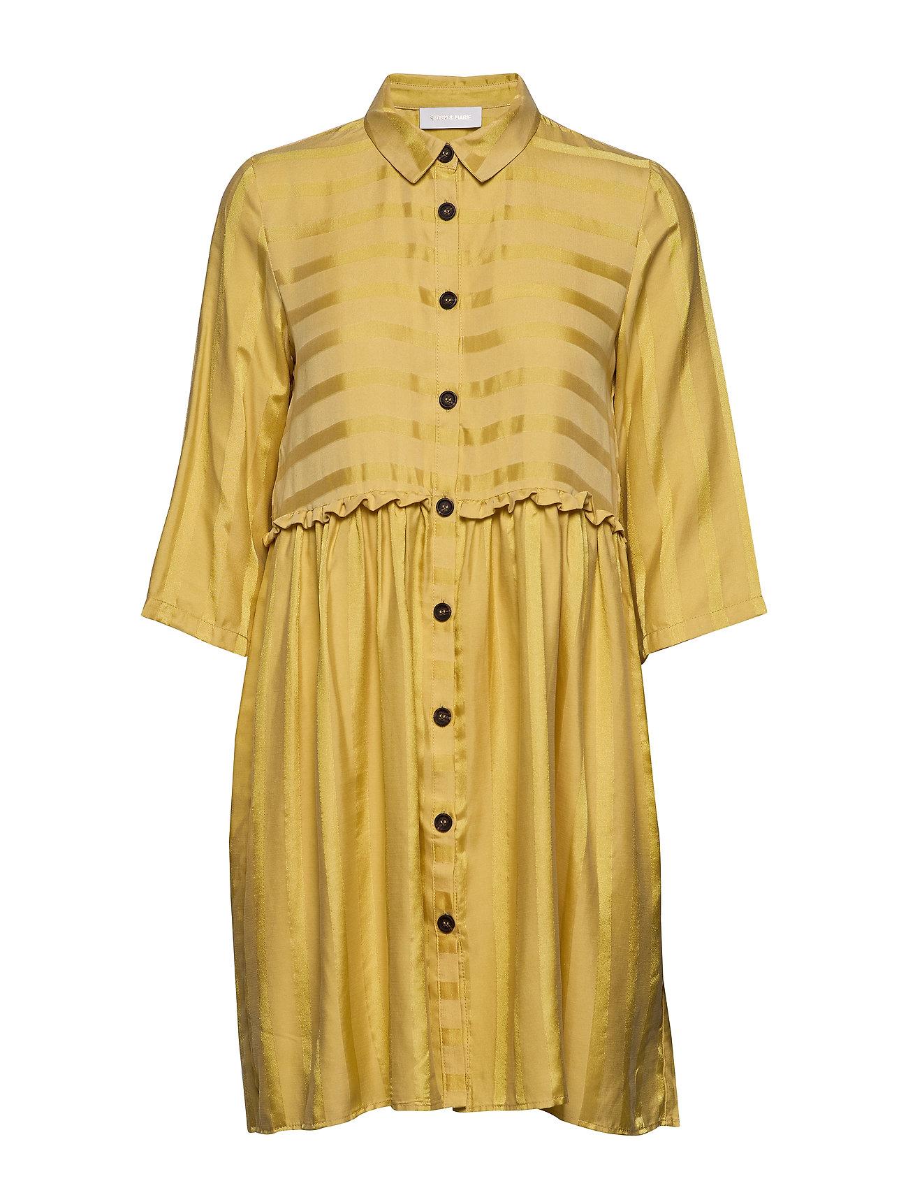 Storm & Marie Jerry Short Dress - 624 GOLDEN STRIPE