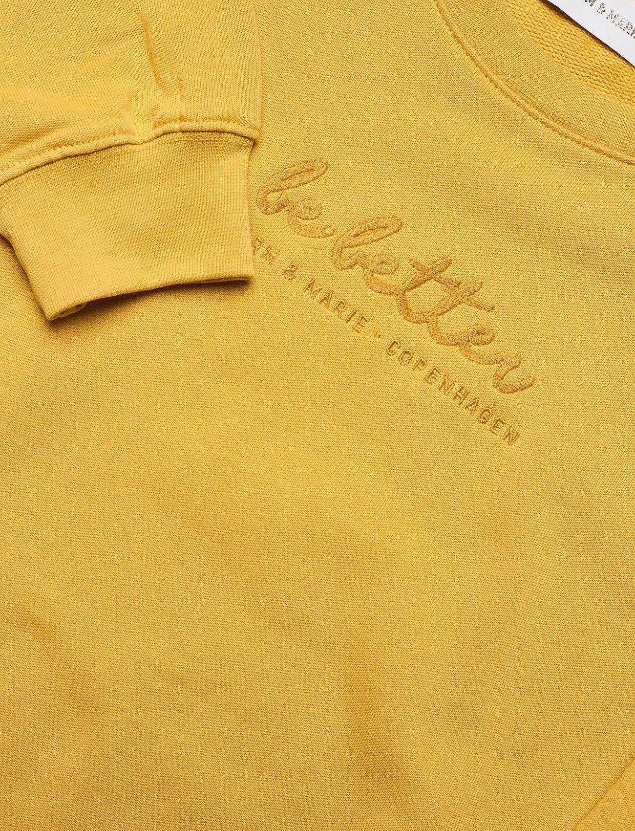 Storm & Marie - Be Better Sweat - sweatshirts & hættetrøjer - cornsilk - 2
