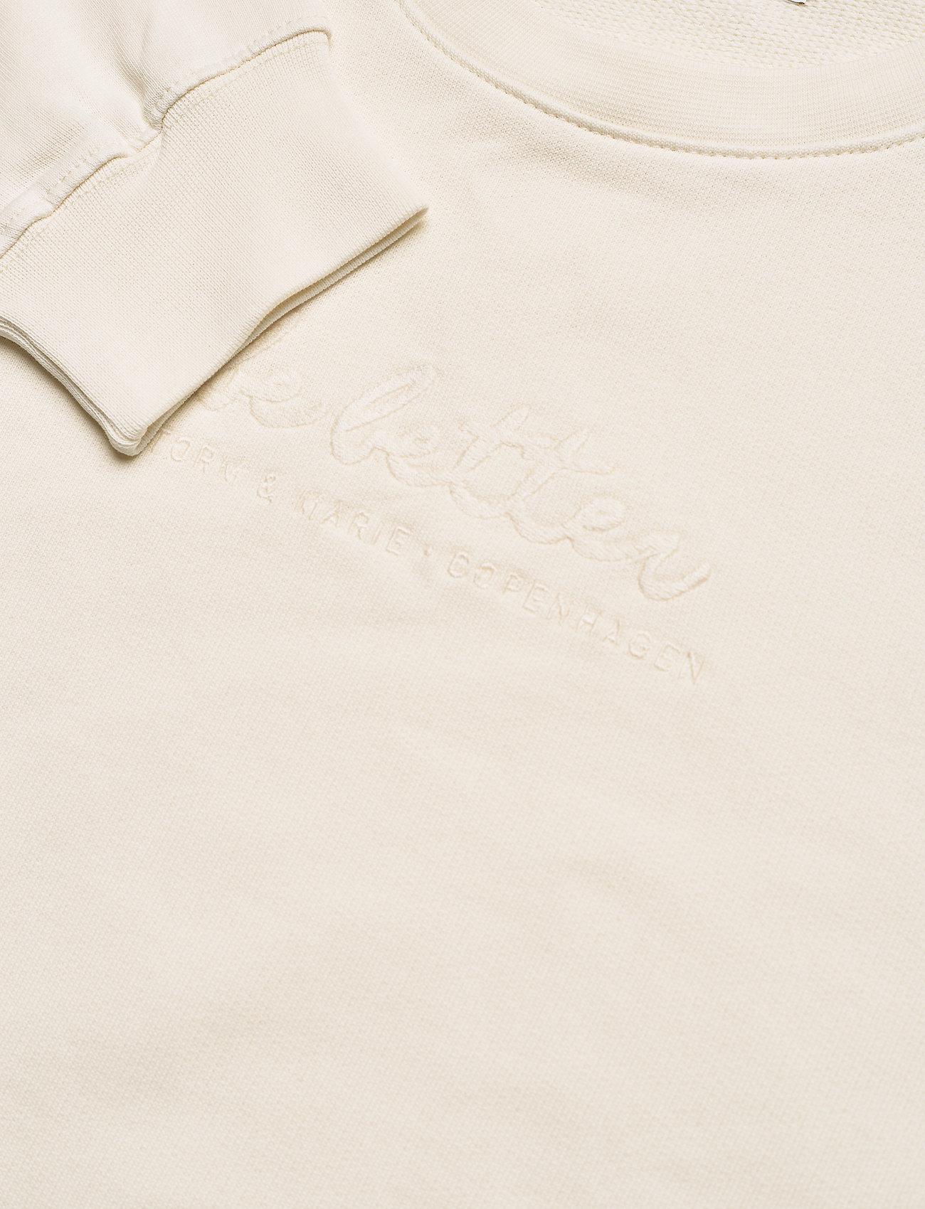 Storm & Marie - Be Better Sweat - sweatshirts & hoodies - vanilla - 2