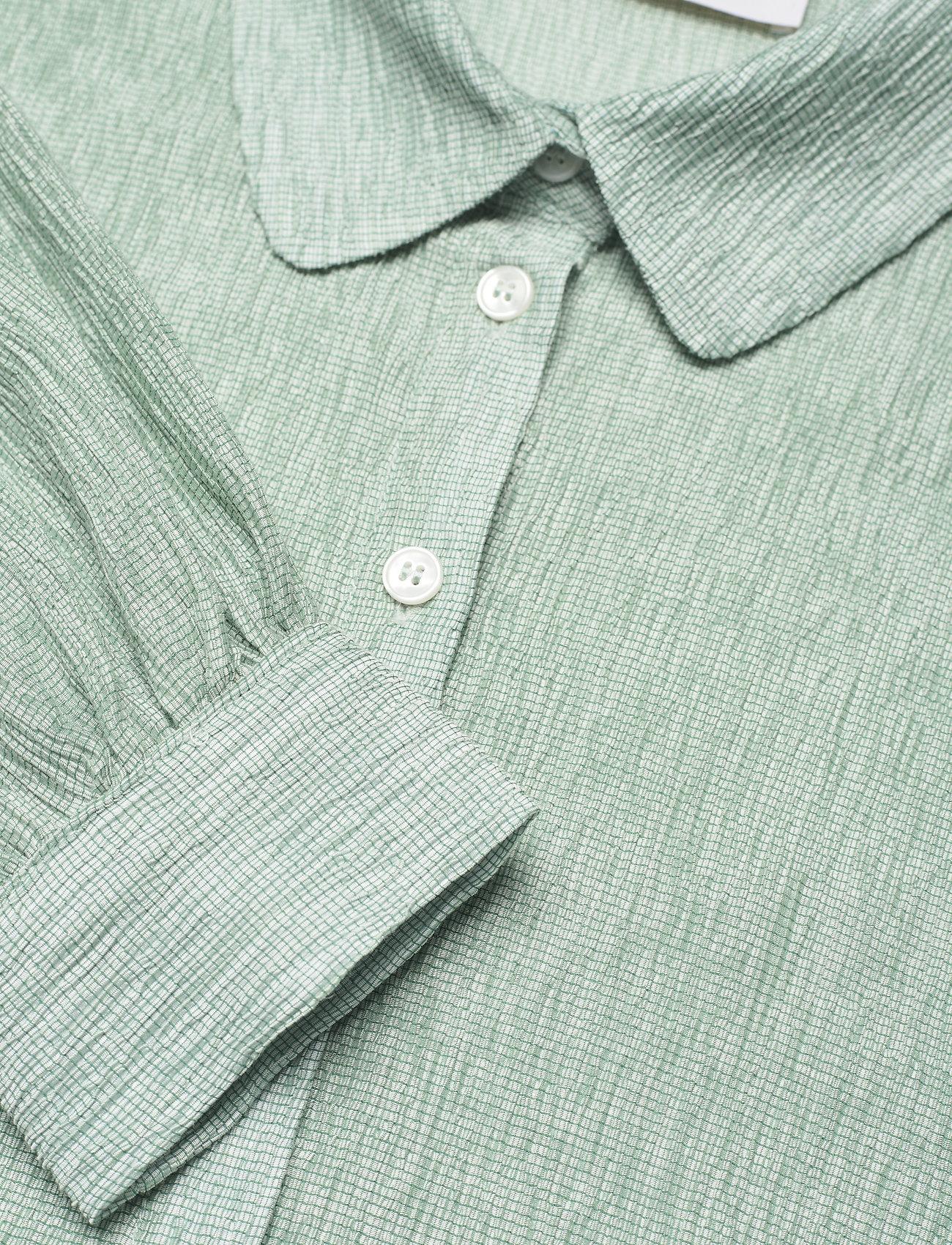 Storm & Marie - Theresa Shirt - long-sleeved shirts - quiet green - 2