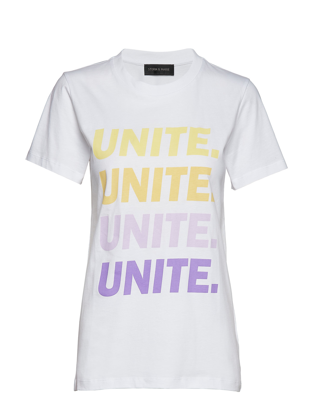 Storm & Marie UNITE-GRADE-TEE - BRIGHT WHITE