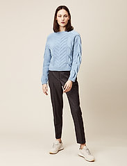 Storm & Marie - Sille Blouse - jumpers - sky blue - 0