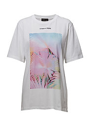 JUNGLE-TEE - BRIGHT WHITE