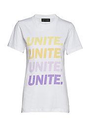 UNITE-GRADE-TEE - BRIGHT WHITE
