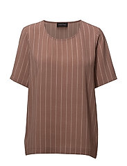 ROSS-SS - NUTMEG & ROSE SMOKE STRIPE