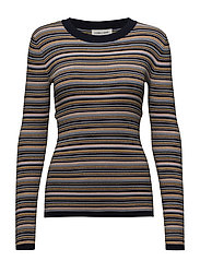NAP-BL - MINI STRIPE W. LUREX