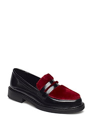 ELMA - BLACK/BURGUNDY