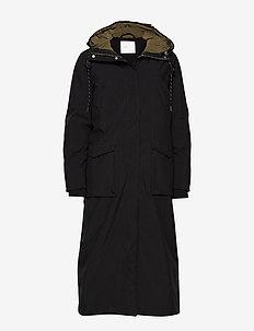 Pelly Coat - BLACK