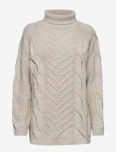 Sille Turtleneck - LIGHT GREY MELANGE
