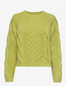Sille Blouse - gensere - leaf green