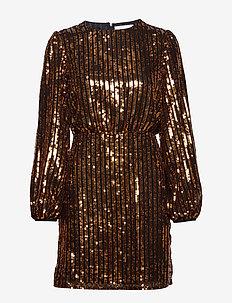 Clara Dress - korte kjoler - honey