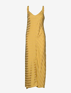 Jerry Slip Dress - 624 GOLDEN STRIPE