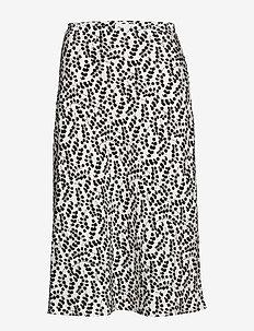 Caesia Skirt - midi kjolar - eucalyptus print