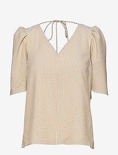 Dream Short Sleeve - kortærmede bluser - stripes