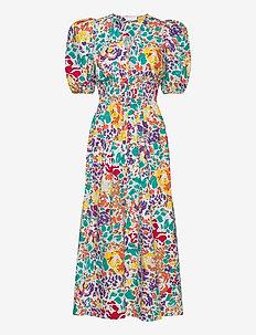Linh Puff Dress - maxikjoler - floral print