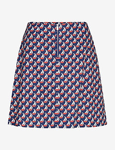 Linh Skirt - korte nederdele - boat print
