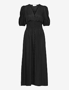 Chloe Puff Dress - maxikjoler - black