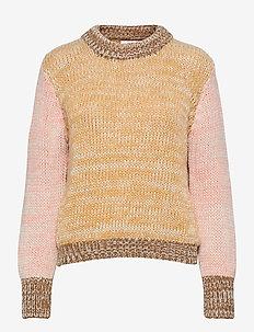 Elin Sweater - sweaters - cornsilk