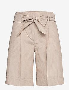 Hope Shorts - paper bag shorts - stripes