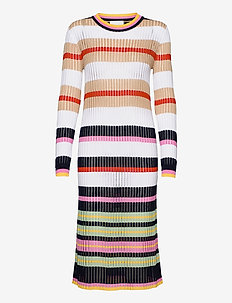 Maggie Dress - knitted dresses - stripes