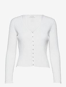 Sophia Cardigan - cardigans - white