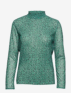 HEART-BL - ALL OVER PRINT/GREEN