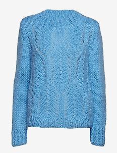 DARIA-BL - swetry - sky blue