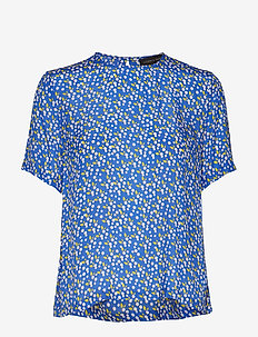BALAN-SS - ALL OVER PRINT - BLUE