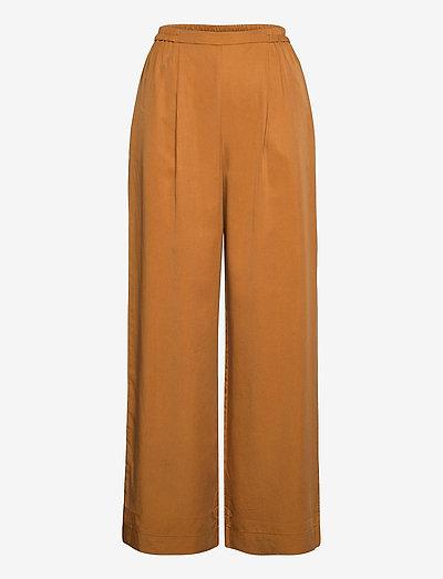 Eden Pants - bukser med brede ben - lion