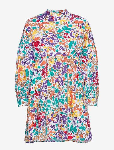Linh Short Dress - sommerkjoler - floral print