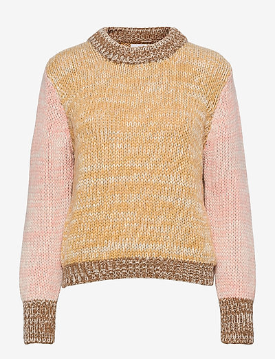 Elin Sweater - trøjer - cornsilk