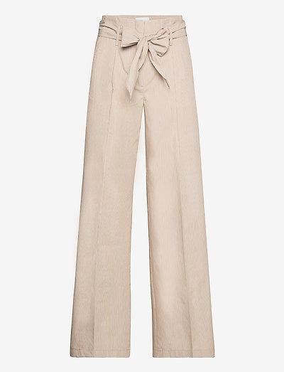 Hope Pants - bukser med lige ben - stripes