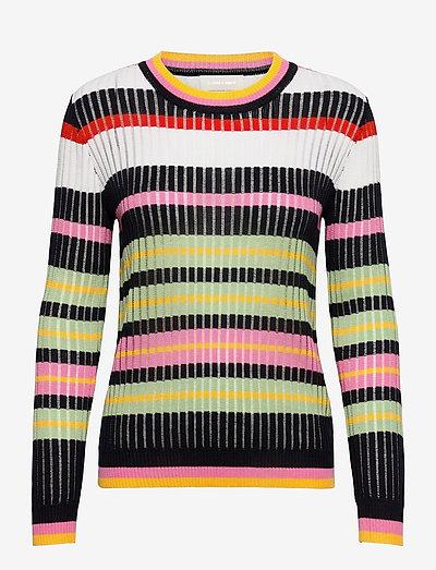 Maggie Sweater - trøjer - stripes