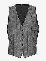 Strellson - 11 Ves 10008123 - waistcoats - medium grey - 0
