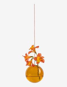 HANGING FLOWER BUBBLE - vaser - amber