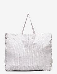STUDIO FEDER - LARGE BAG -LAYER CHECK - tote bags - layer check - 0
