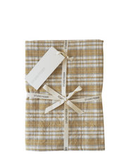 TEA TOWEL - OLD CHECK